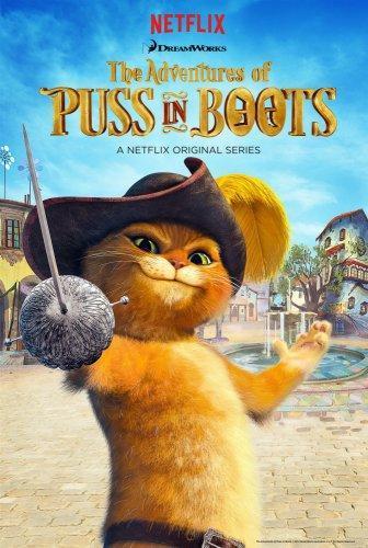 Приключения кота в сапогах 5 сезон (2017)
